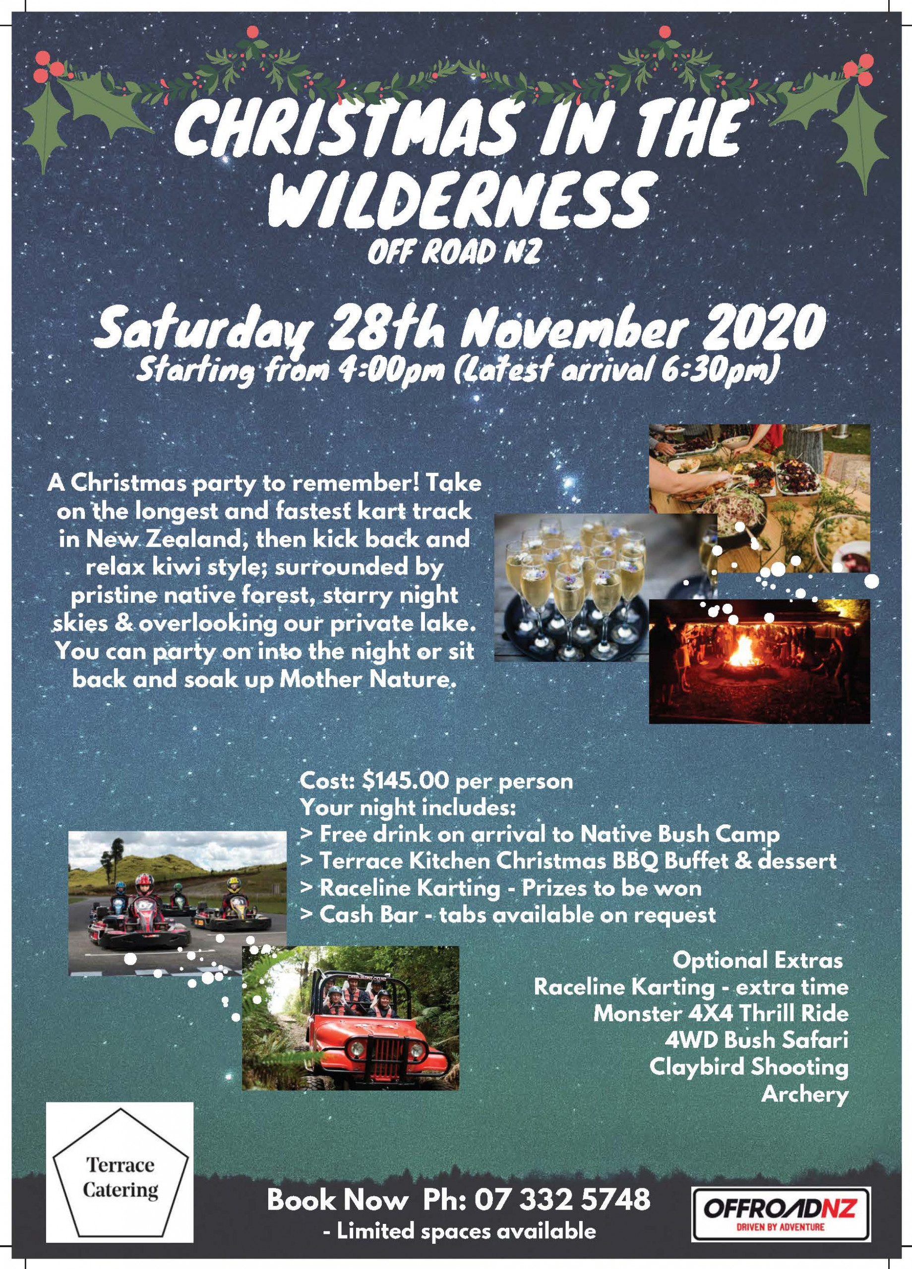 Christmas in the Wilderness @ Off Road NZ